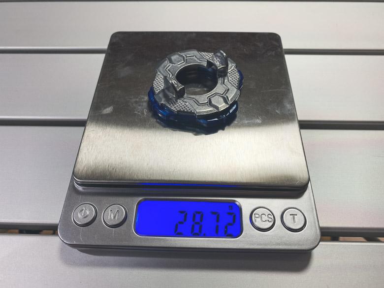 スティングディスクの重量